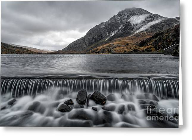 The Weir Greeting Card by Adrian Evans