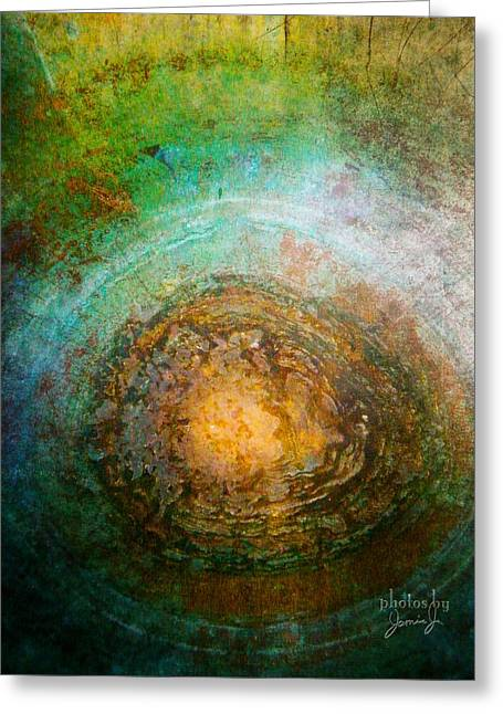 The Well Of Longing Greeting Card