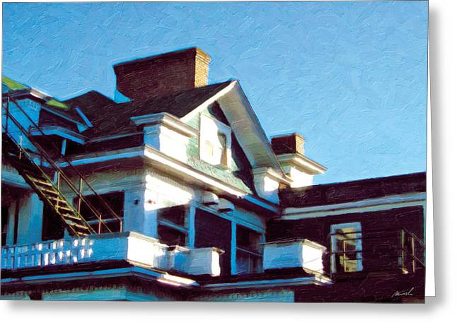 Greeting Card featuring the photograph The Welland Club 5 by The Art of Marsha Charlebois