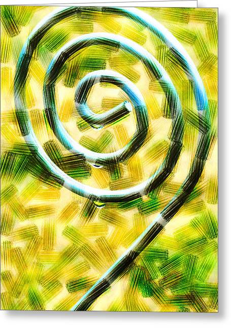 The Wet Whirl  Greeting Card by Steve Taylor