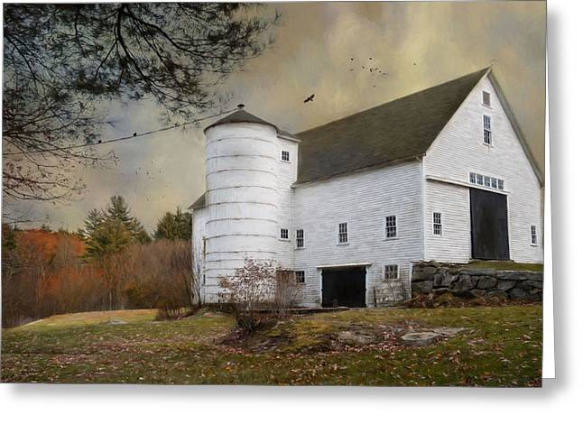 The White Barn Greeting Card