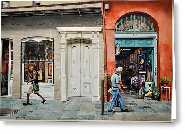 The White Door Greeting Card