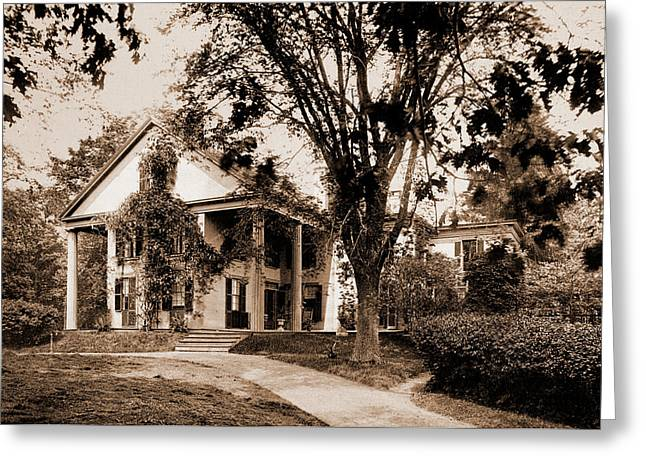The Whittier House, Danvers, Massachusetts, Whittier, John Greeting Card by Litz Collection