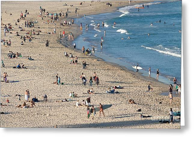 The Wide Sweep Of Bondi Beach - Sydney - Australia Greeting Card