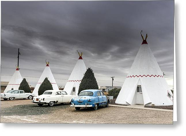 The Wigwam Motel In Holbrook Greeting Card
