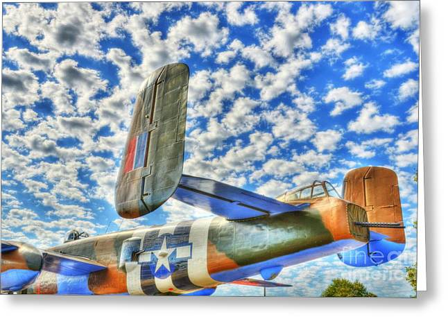 The Wild Blue Yonder 2 Greeting Card