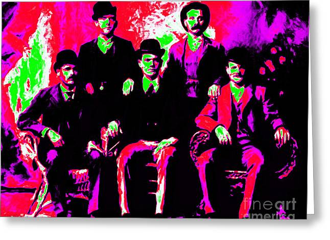 The Wild Bunch 20130212 Greeting Card by Wingsdomain Art and Photography