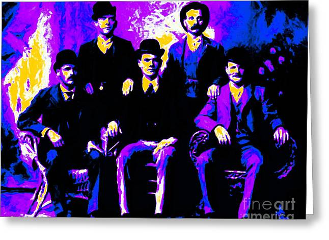 The Wild Bunch 20130212m68 Greeting Card by Wingsdomain Art and Photography