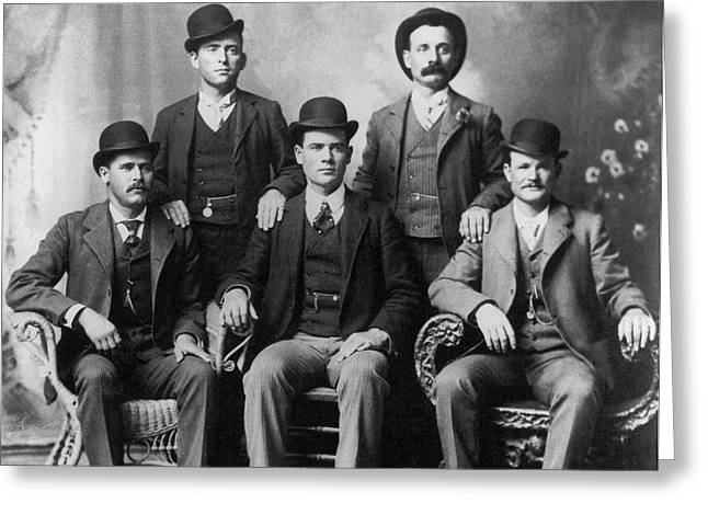 The Wild Bunch Gang Greeting Card
