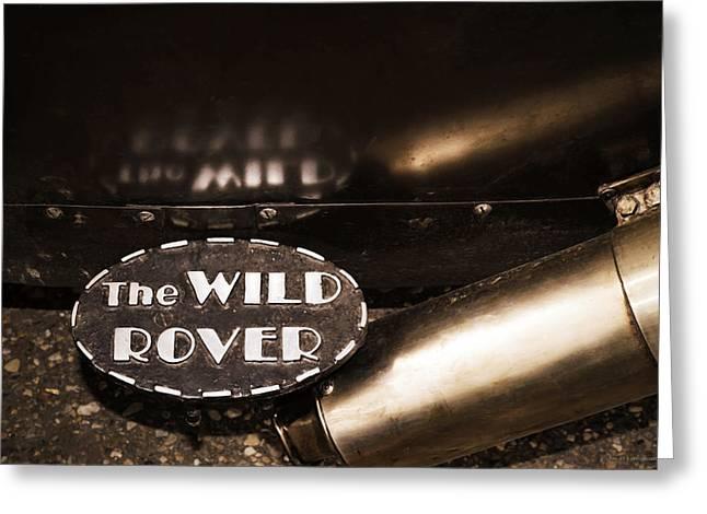 The Wild Rover Greeting Card by Yvon van der Wijk