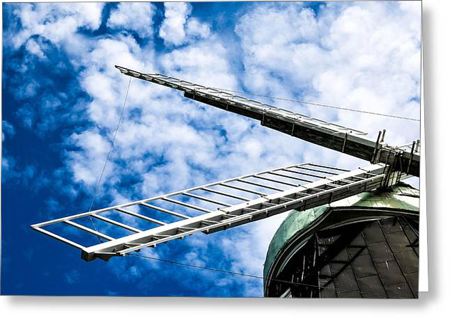 The Windmill Greeting Card by Tommytechno Sweden
