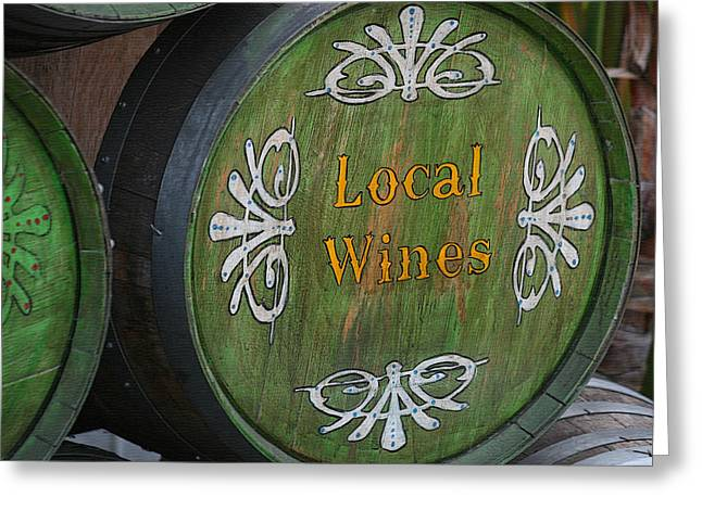 The Winery Greeting Card