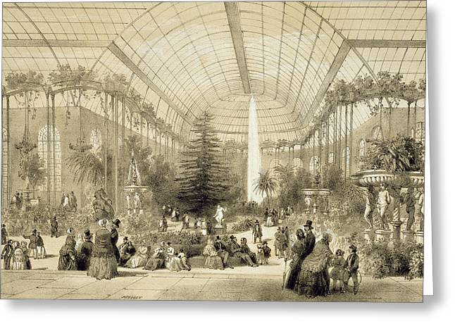 The Winter Garden Greeting Card