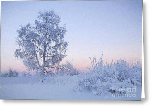 The Winter Light Greeting Card