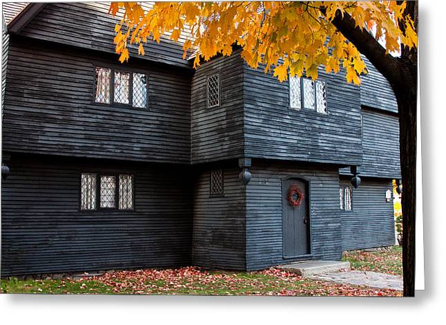 The Witch House Greeting Card by Jeff Folger
