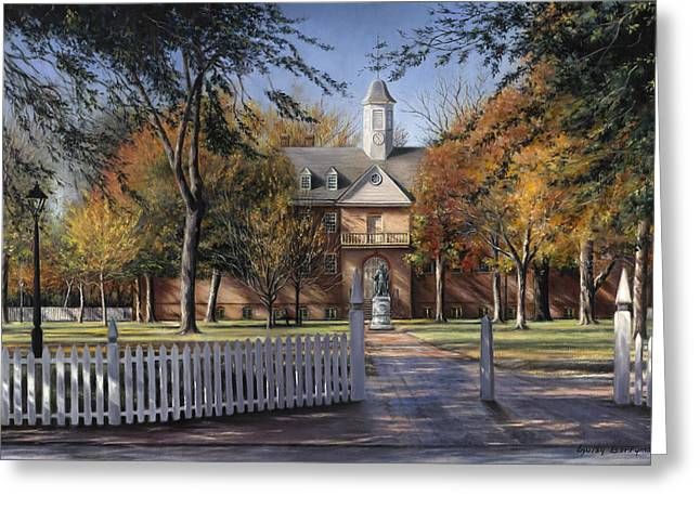 The Wren Building - College Of William And Mary Greeting Card