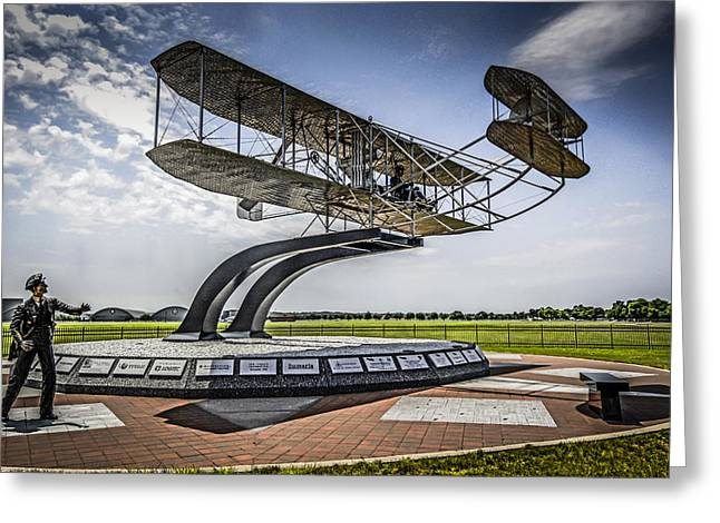 The Wright Flyer Greeting Card