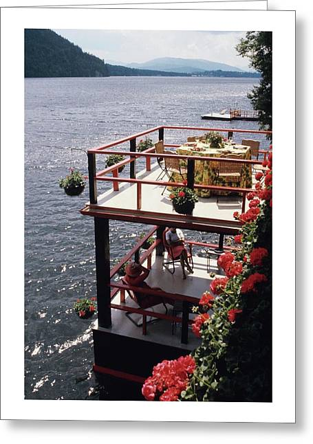 The Wyker's Deck Greeting Card