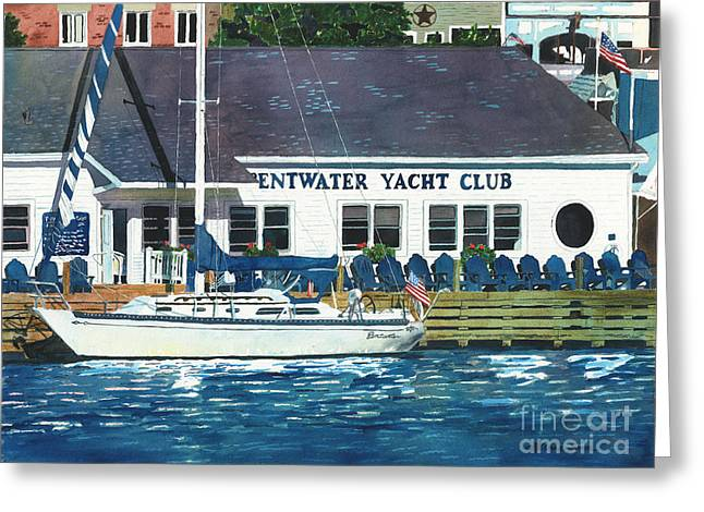 The Yacht Club Greeting Card
