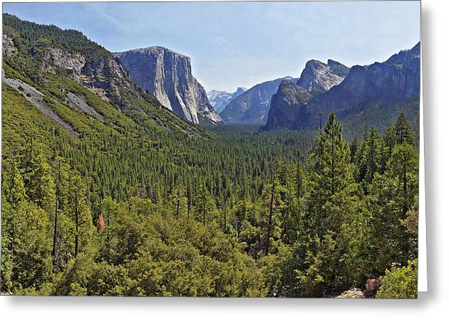 The Yosemite Valley Greeting Card
