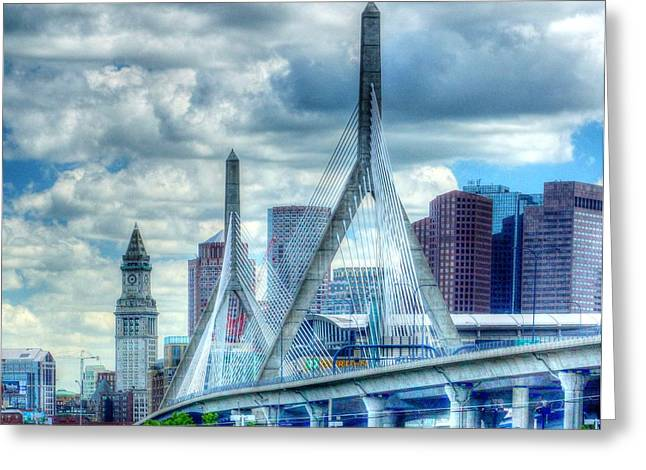 The Zakim 010 Greeting Card