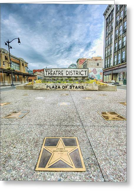 Theatre District Greeting Card
