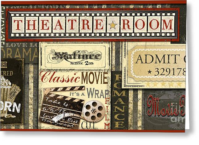 Theatre Room Greeting Card
