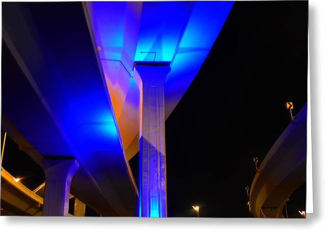 The Bridge Greeting Card by David Lee Thompson