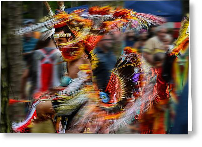 Their Spirit Is Among Us - Nanticoke Powwow Delaware Greeting Card