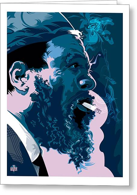 Thelonius Monk Greeting Card
