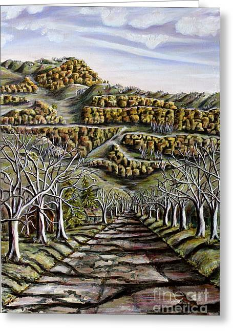 Then And Now A New Beginning 2 Greeting Card by Linda  Steine