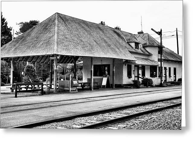 Thendara Train Station Greeting Card by David Patterson