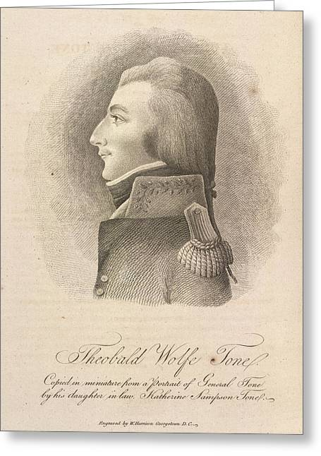 Theobald Wolfe Tone Greeting Card