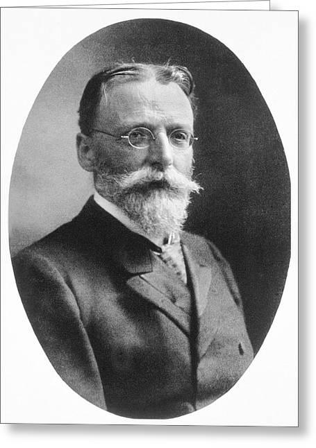 Theodor Escherich Greeting Card