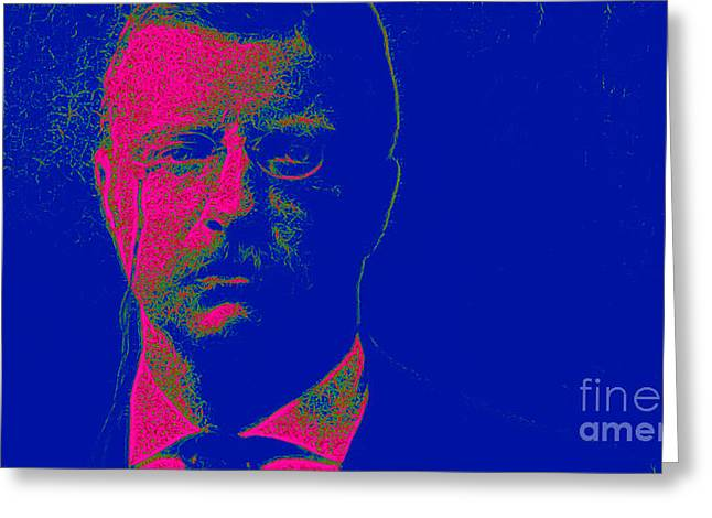 Theodore Roosevelt 20130610 Greeting Card by Wingsdomain Art and Photography