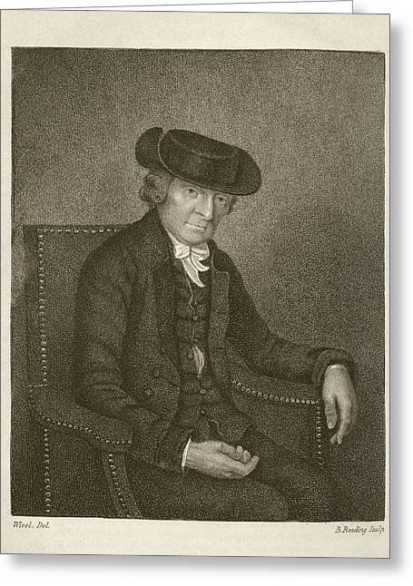 Theophilus Buckeridge Greeting Card by Middle Temple Library