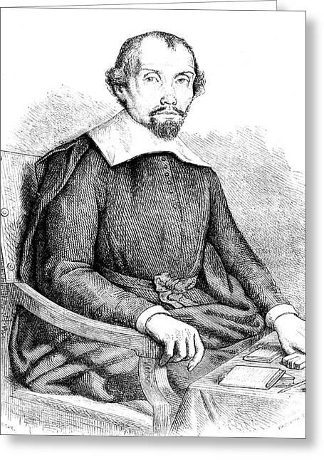 Theophraste Renaudot Greeting Card