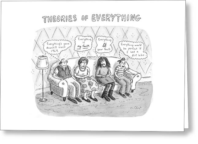 Theories Of Everything: 'everything's Gone Greeting Card
