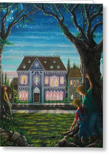 There Is A House In New Orleans Greeting Card