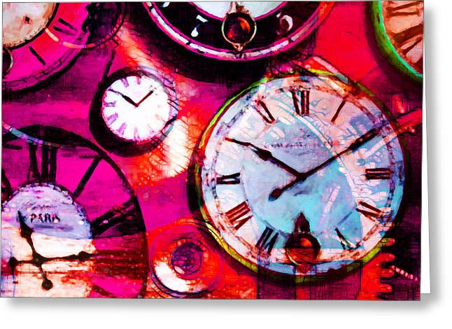 There Is Never Enough Time 5d24472m38 Square Greeting Card
