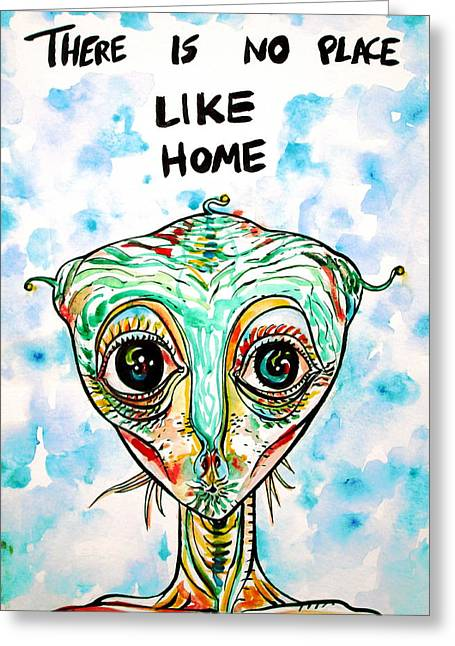 There Is No Place Like Home Greeting Card by Fabrizio Cassetta