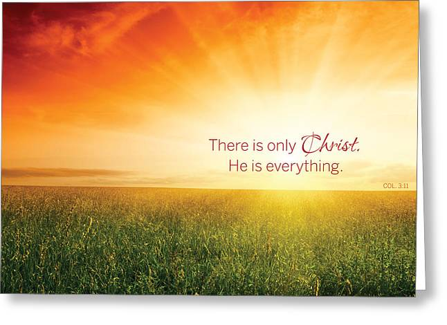 Colossians 3 Greeting Card