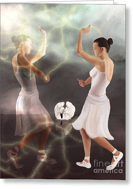 There Is Only The Dance Greeting Card by Sydne Archambault