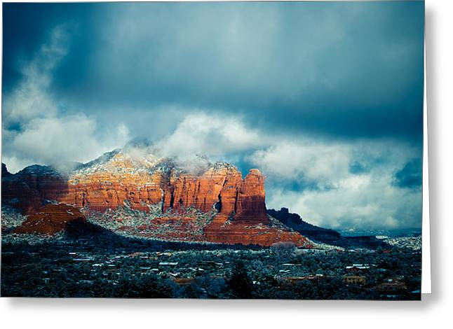 There's A Place Greeting Card by Roger Chenery