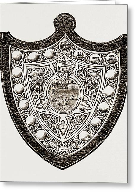 These Indicate That The Honourable Artillery Have Won Greeting Card by Litz Collection