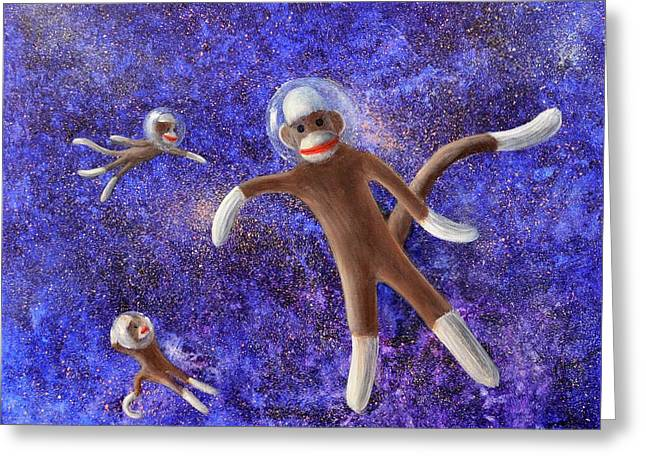 They Came From Outer Space Greeting Card