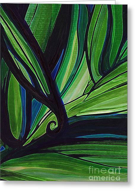 Thicket Greeting Card by First Star Art