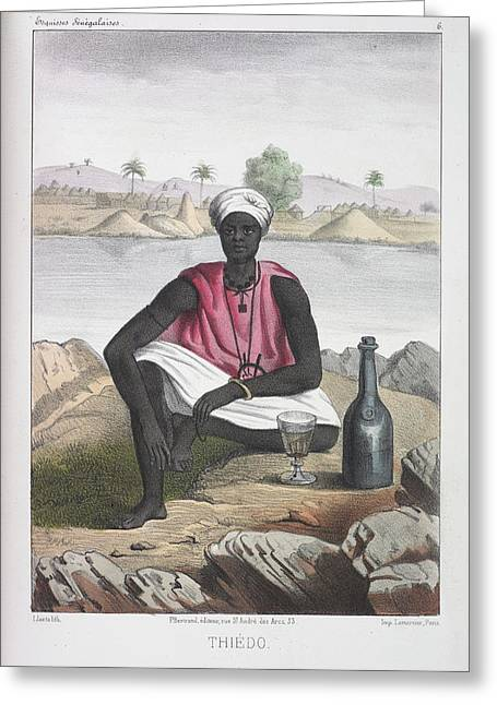 Thiedo Greeting Card by British Library