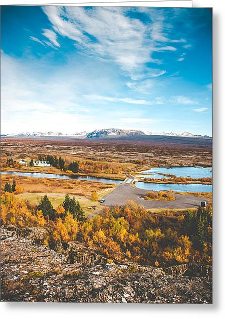 Thingvellir Iceland Greeting Card by Mirra Photography