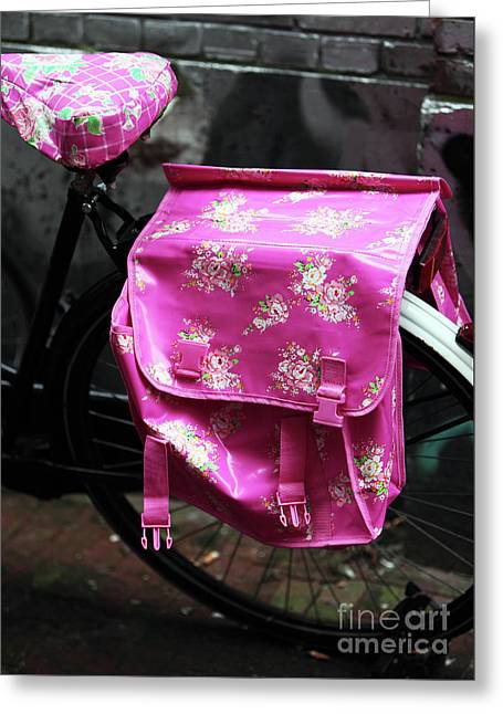 Think Pink Greeting Card by John Rizzuto